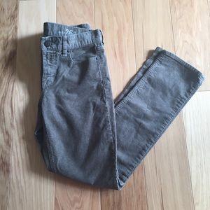 JCrew woman's corduroy skinny pants